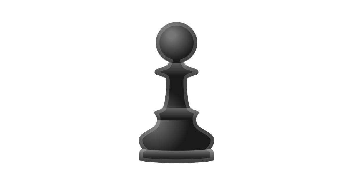 u265f ufe0f chess pawn emoji