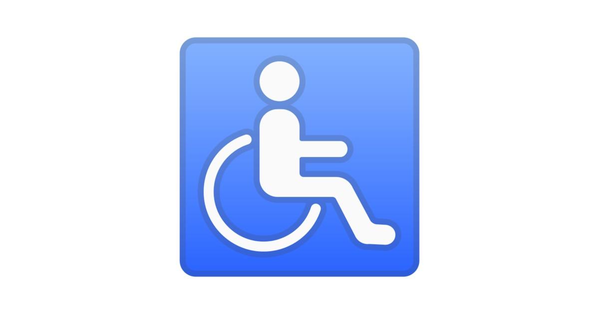Símbolo De Silla De Ruedas Emoji
