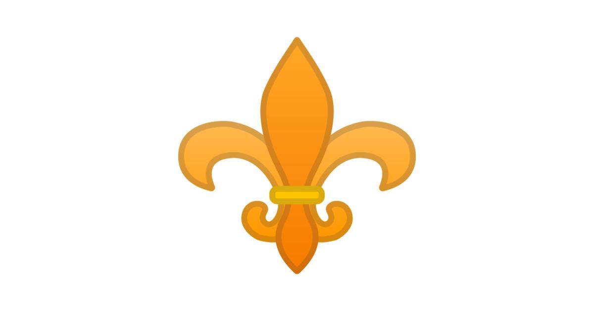 ⚜️ Fleur-de-lis Emoji