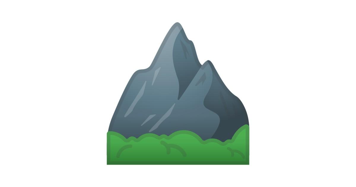 u26f0 ufe0f montagne emoji