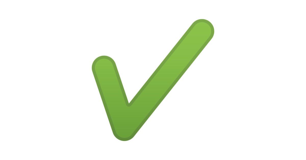 Heavy Check Mark Emoji