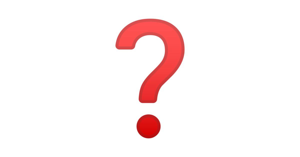 ❓ Question Mark Emoji