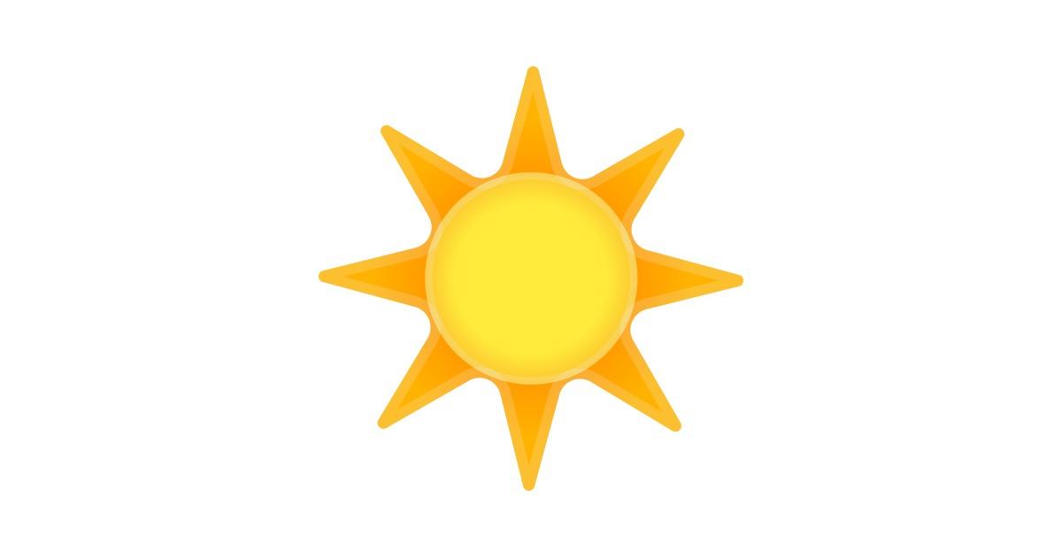 Sonne emoticon World Emoticon