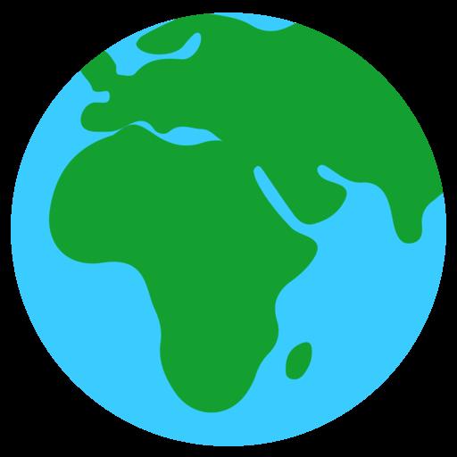 🌍 Globe Showing Europe-Africa Emoji