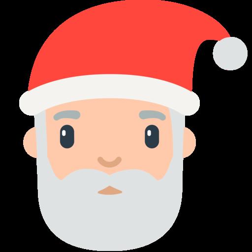 Emoticon Babbo Natale.Santa Claus Emoji