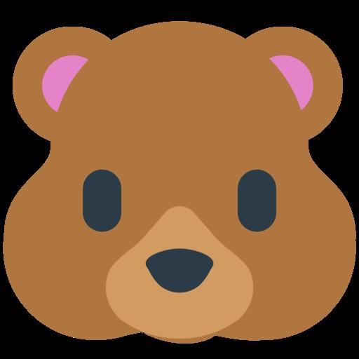 bear face emoji ʕ ᴥ ʔ bear emoji