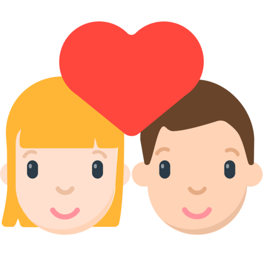 Risultati immagini per emoj coppia amor