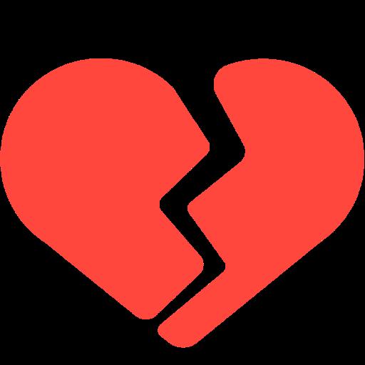 Connu 💔 Cœur Brisé Emoji LS69