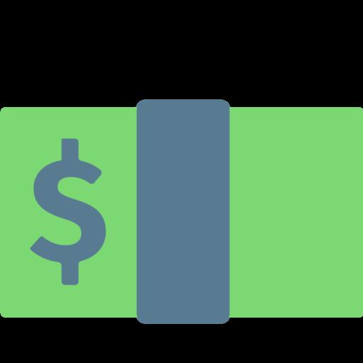 billete de d243lar emoji