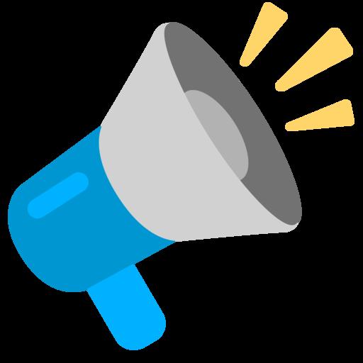 Image result for megaphone emoji png