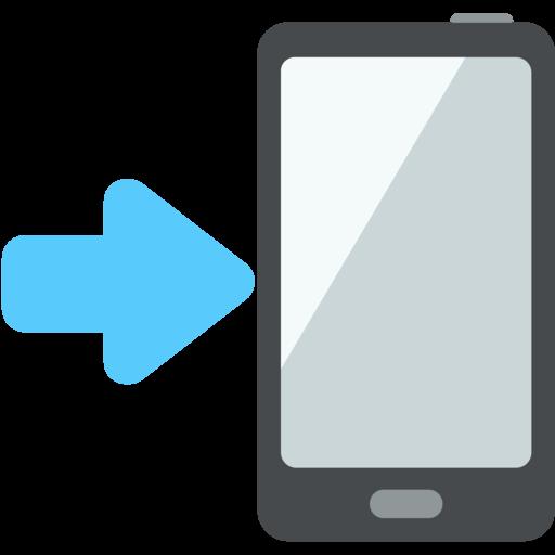 ???? Telefone Celular Com Seta Emoji