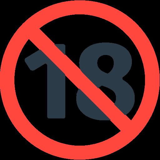 Risultati immagini per vietato ai minori di 18 anni