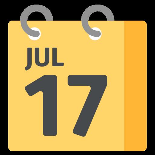Emoji Del Calendario.Spiral Calendar Emoji