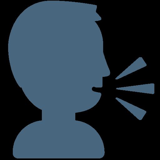 🗣️ Tête Qui Parle Emoji