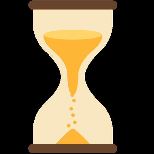 Reloj de arena con tiempo emoji for Fotos de reloj de arena