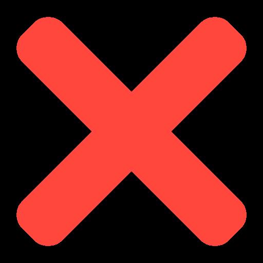 ❌ Rotes Kreuz-Emoji | {Rotes kreuz symbol 86}