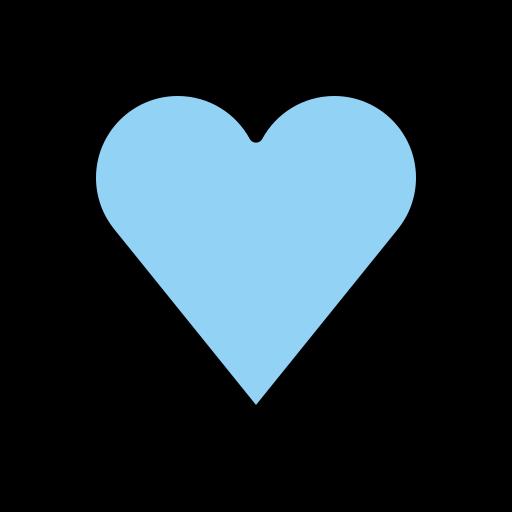 💙 Cœur Bleu Emoji