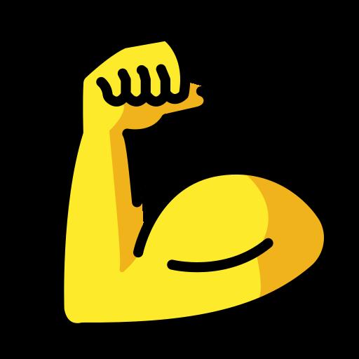 💪 Bíceps Flexionado Emoji