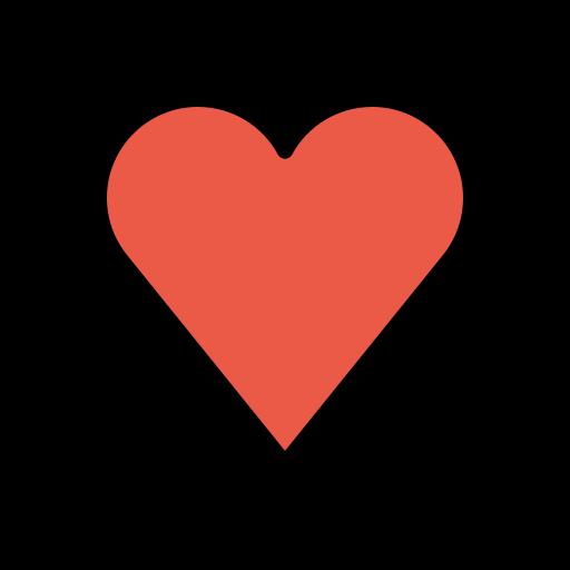 Herz symbol leeres ✔️ ❤️