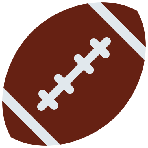 bal u00f3n de f u00fatbol americano emoji sports clipart vector sport clip art free printable