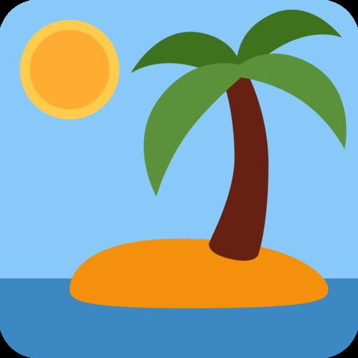 🏝️ einsame Insel-Emoji