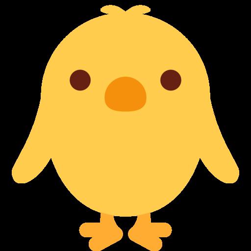 Pollito De Frente Emoji