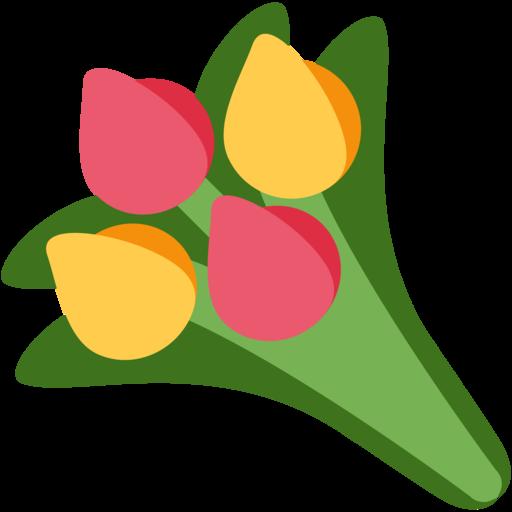 Mazzo Di Fiori Emoticon.Bouquet Emoji