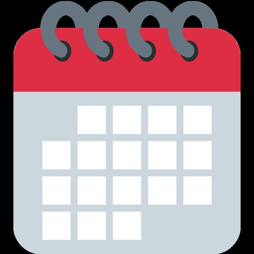 Resultat d'imatges de emojis calendario