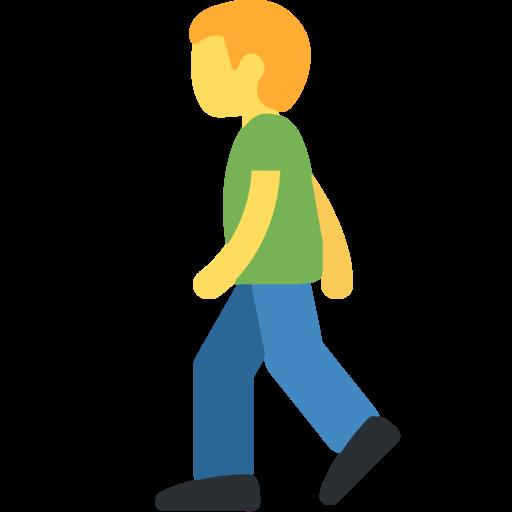Personne Qui Marche Emoji