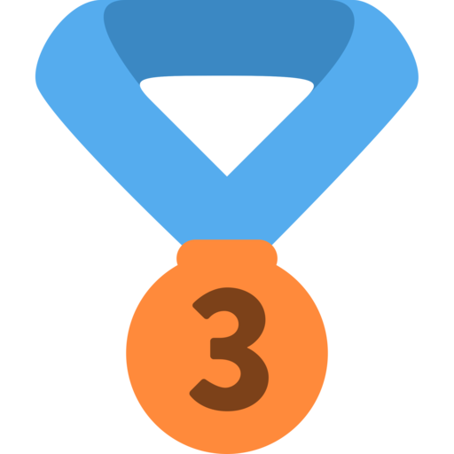 Image result for MEDALS EMOJI BRONZE