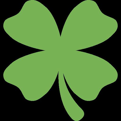 Trébol De Cuatro Hojas Emoji