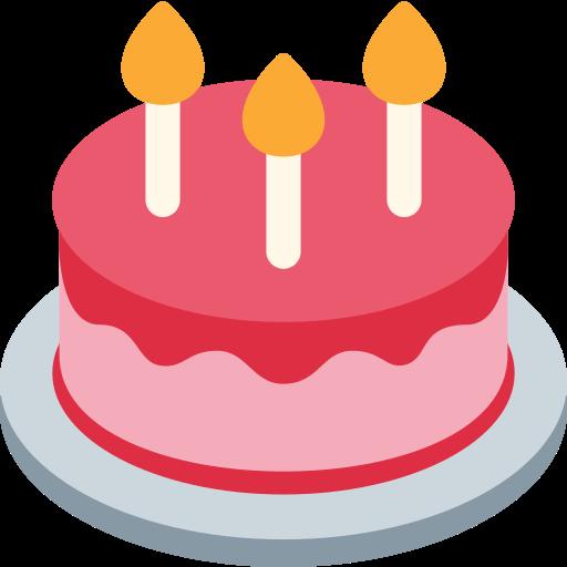 Geburtstagskuchen Emoji