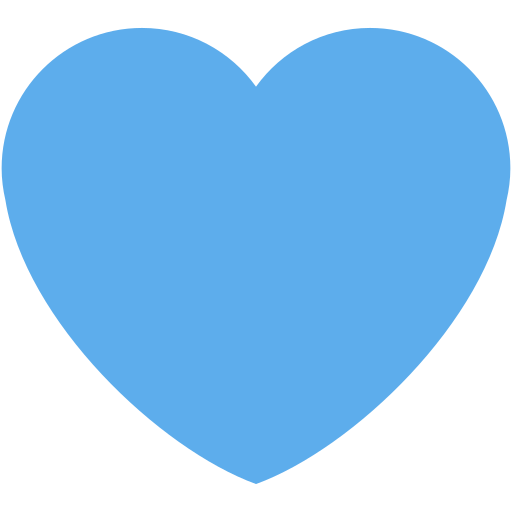 Resultado de imagem para coração azul
