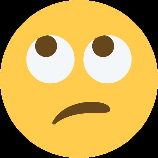 Resultado de imagen de emoticono ojos arriba