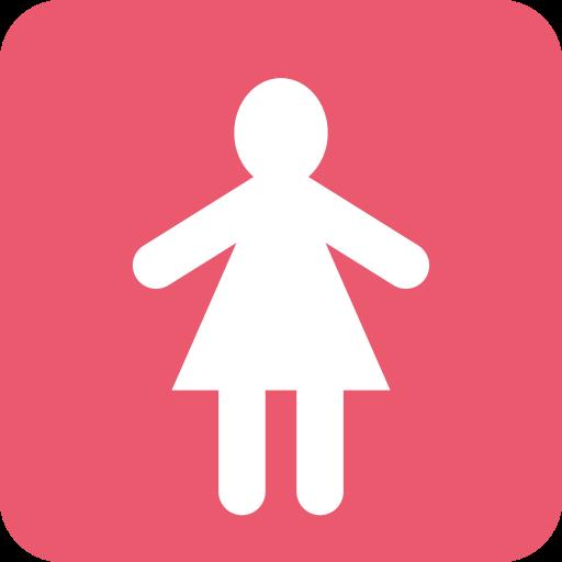 Symbole Toilettes Femmes Emoji