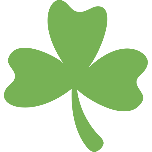 Trébol Emoji
