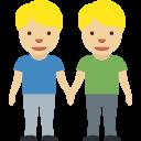 👬🏼 Due Uomini Che Si Tengono Per Mano: Carnagione Abbastanza Chiara; Twitter v12.0