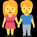 🧑🤝🧑 People Holding Hands; Twitter v12.0