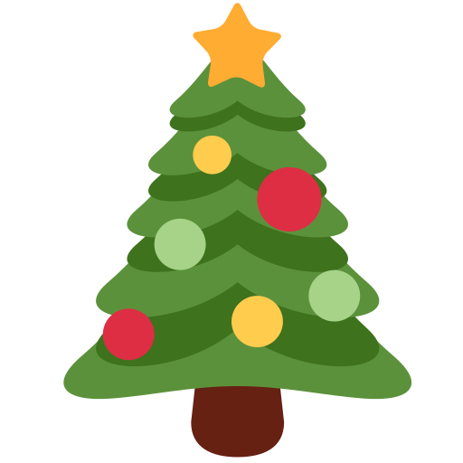 Christmas Tree Emoji.Christmas Tree Emoji