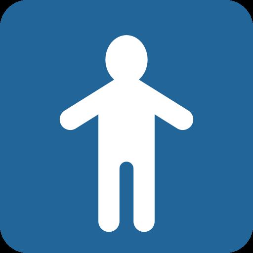 Simbolo Del Bagno Degli Uomini Emoji