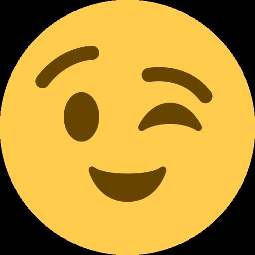 Visage Faisant Un Clin D œil Emoji
