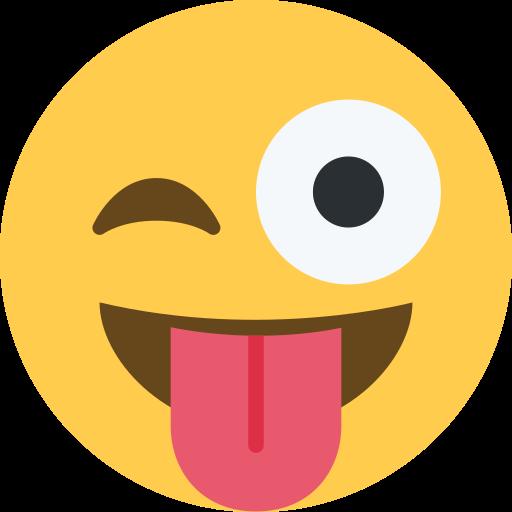 😜 Cara Sacando La Lengua Y Guiñando Un Ojo Emoji