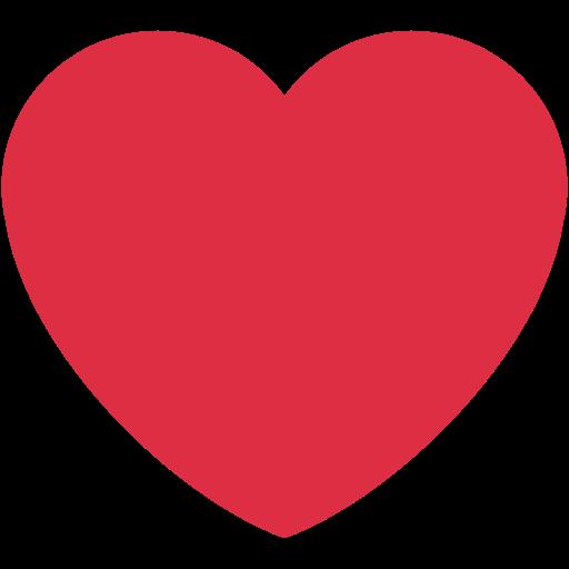 Cœur Rouge Emoji
